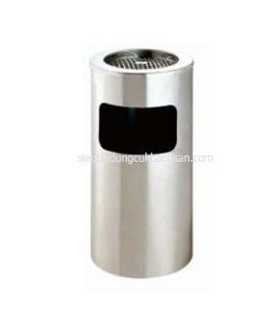 Thùng rác inox có gạt tàn thuốc -TP692117