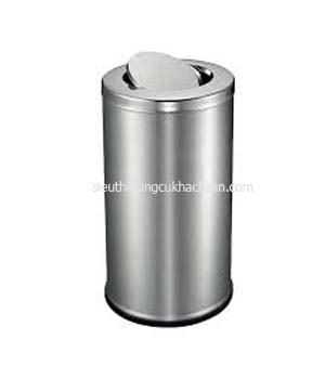 Thùng rác inox nắp lật TP692123