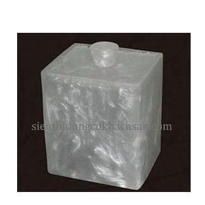 hộp tăm bông-dụng cụ khách sạn Tín Phát TP695027-min
