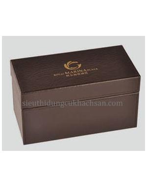 hộp đựng trà 2 ngăn-thiết bị khách sạn Tín Phát TP695053-min