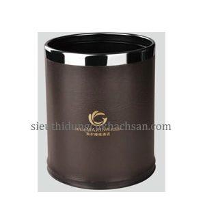 thùng rác da 2 lớp-thiết bị khách sạn Tín Phát TP695057-min