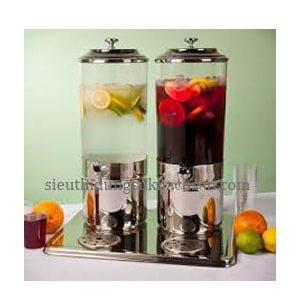 bình đựng nước trái cây 2 ngăn 7l -thiết bị khách sạn Tín Phát TP697055