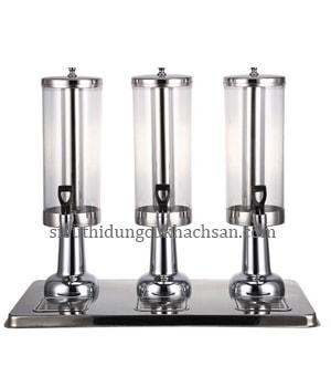 bình đựng nước trái cây 3 ngăn inox -thiết bị khách sạn Tín Phát TP697054-min