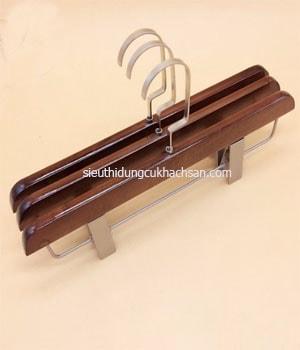 móc treo quần áo bằng gỗ có kẹp TP528804 1-min