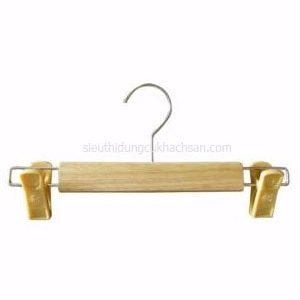 móc gỗ treo quần áo kẹp nhựa TP528805-min