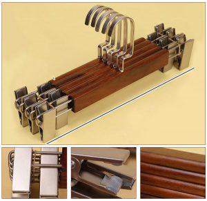 móc gỗ trao áo quần có kẹp TP528808 - 2-min