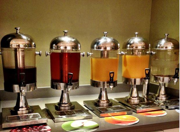 bình juice buffet