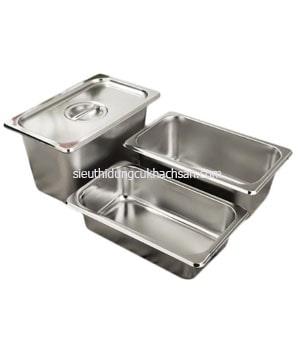 Khay inox buffet gn 1/4 - TP697258
