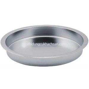 Khay inox buffet tròn