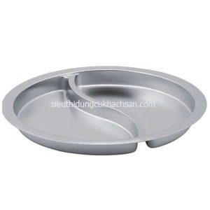 Khay inox buffet tròn 40cm - TP697195