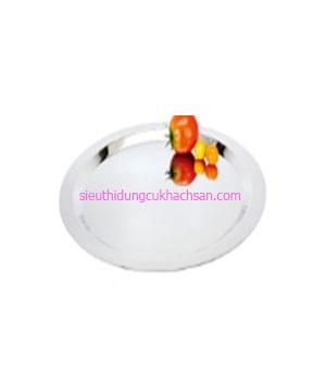 Khay inox trưng bày buffet hình tròn TP8217