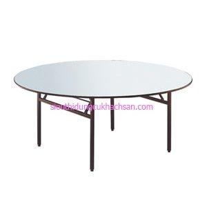 Bàn gập hình tròn nhà hàng - TP662003
