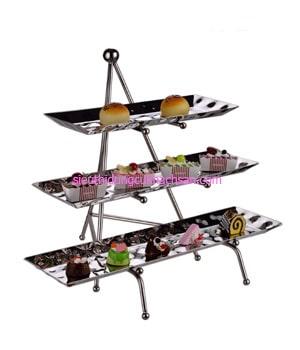 Kệ trưng bày buffet inox 3 tầng - TP80024