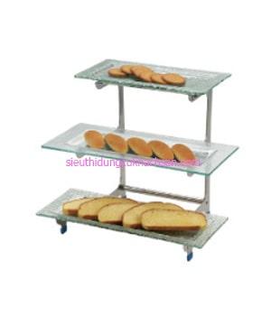 Kệ trưng bày buffet 3 tầng - TP80026