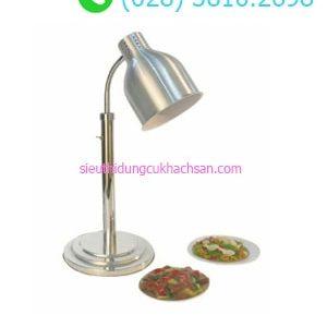 Đèn hâm nóng thức ăn buffet đơn màu bạc - TPD093