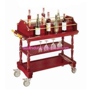 Xe đẩy rượu 3 tầng TPXD0011