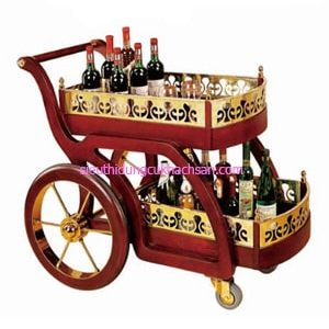 Xe phục vụ rượu nhà hàng - TPXD0013