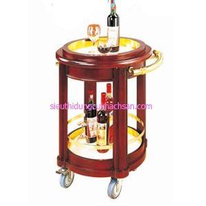 Xe đẩy rượu di động - TPXD0016