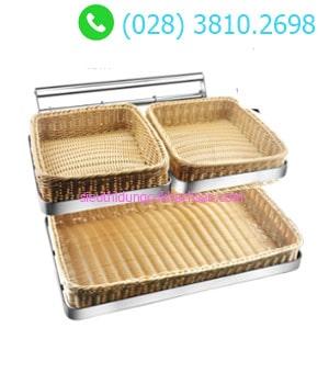 Kệ trưng bày bánh mì 2 tầng buffet TPZ-03115 TPZ-03115 1-min