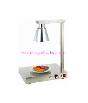 Đèn hâm nóng thức ăn 1 bóng inox - TPD080