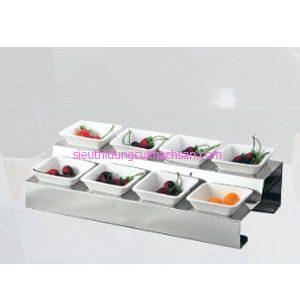 Bộ khay inox trưng bày buffet TPZ-03109