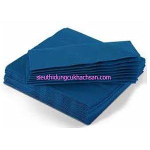 Khăn ăn napkin màu xanh TP691076