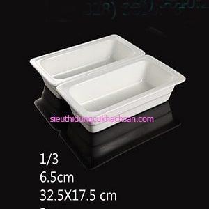 Khay sứ buffet 1/3 TP697208