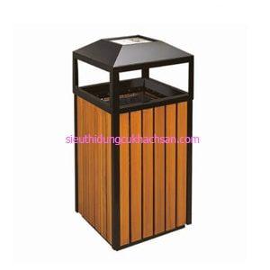Thùng rác gỗ ngoài trời TP692150
