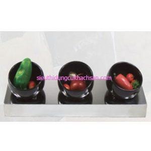 Bộ 3 tô trưng bày buffet TPZ-03107