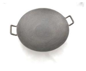 Chảo thép bầu 2 quai 34cm - TPCK0003