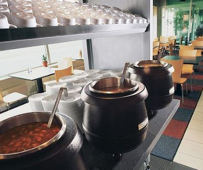 Nồi hâm soup buffet dùng trong tiệc buffet