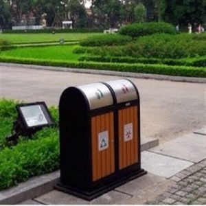 Thùng rác gỗ ngoài trời - Hotline đặt hàng: 0987.940.752