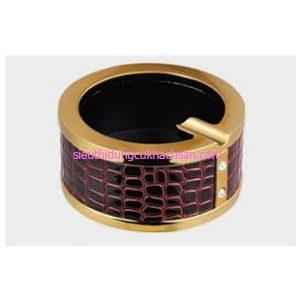 Gạt tàn thuốc inox bao da - TPK10605