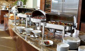 Tiệc buffet tại nhà hàng
