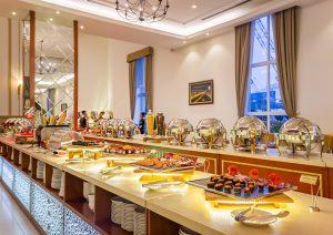 tổ chức buổi tiệc buffet tại nhà hàng