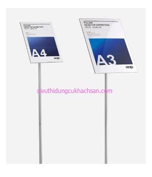 Bảng chỉ dẫn khách sạn có khổ từ A4 đến A1TPHM104 1-min