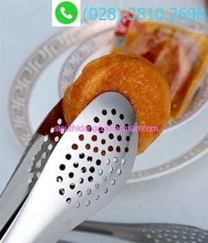 Kẹp gắp thức ăn inox dùng món bánh