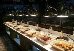 Đèn giữ nóng thức ăn