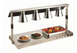 Đèn giữ nóng thức ăn buffet