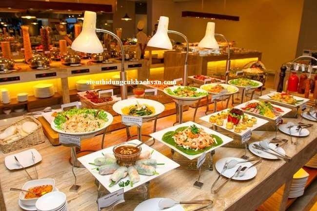 Đèn hâm nóng thức ăn buffet