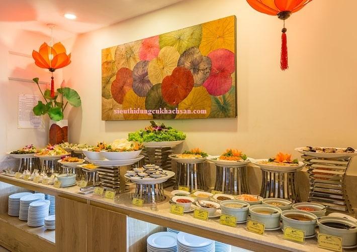 Kệ trưng bày buffet tròn