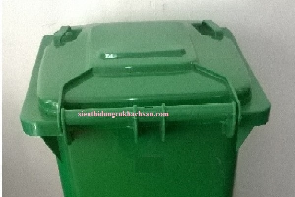Nắp thùng rác nhựa công cộng 120L