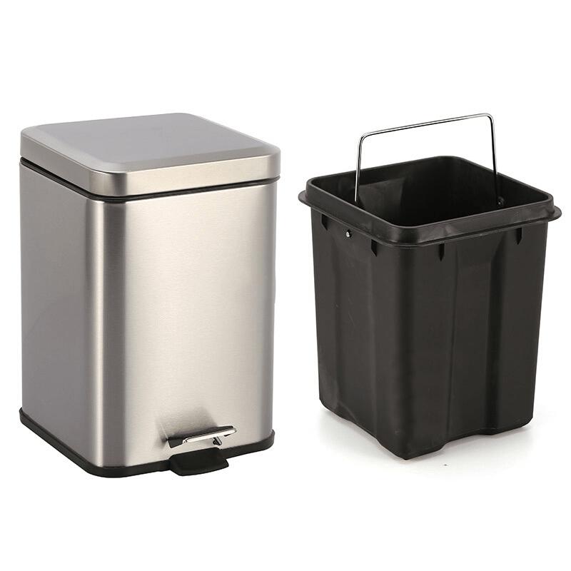 Thùng rác inox cao cấp TP082