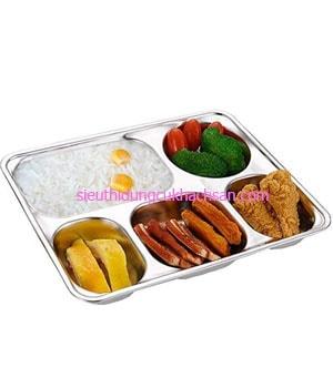 Khay cơm phần inox 201 -TPKP0302