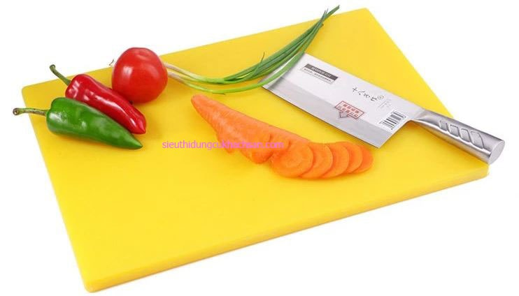 Thớt nhựa màu vàng cao cấp Tín Phát TP696322