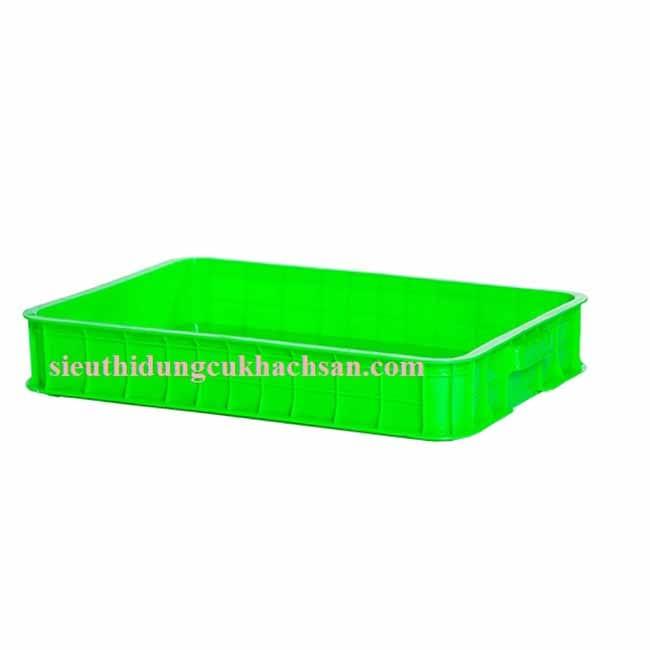 Sóng nhựa đặc màu xanh lá cây