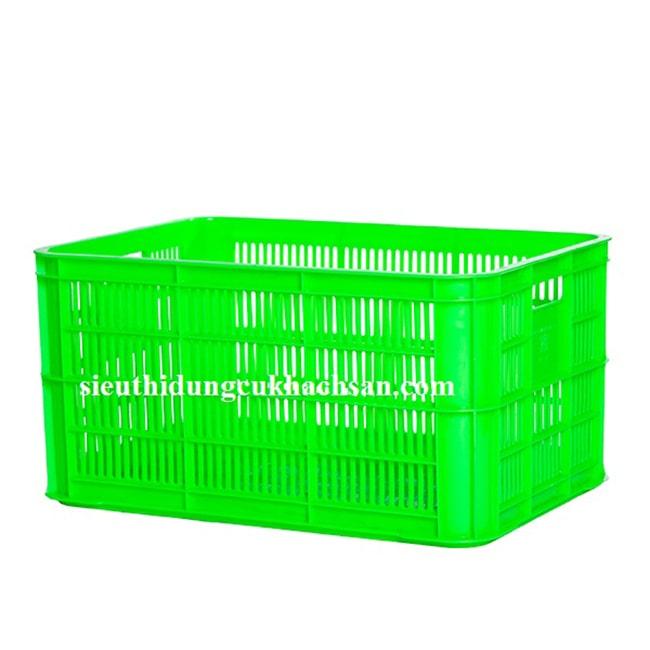 Sóng nhựa hở công nghiệp màu xanh lá cây