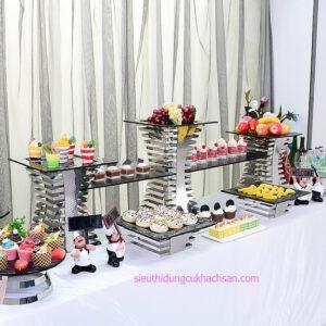 Chân đế decor trang trí buffet