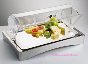 Khay trưng bày thức ăn hình chữ nhật