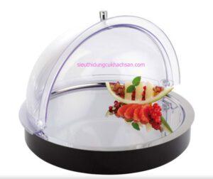 Khay trưng bày thức ăn hình tròn